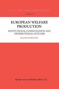 bokomslag European Welfare Production