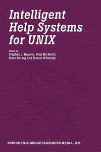 bokomslag Intelligent Help Systems for UNIX