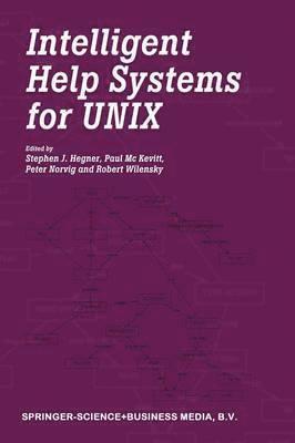 bokomslag Intelligent Help Systems for UNIX