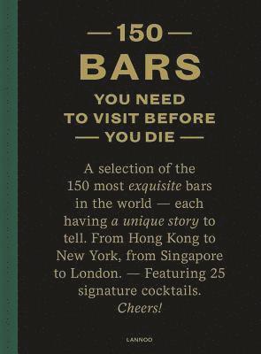 bokomslag 150 Bars You Need to Visit Before You Die