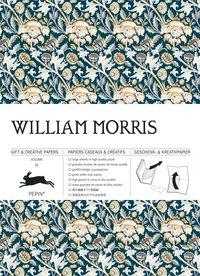 Pappersarksbok 50x70cm 12 ark William Morris