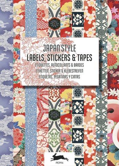 Etiketter, klistermärken och tejp Japan Style