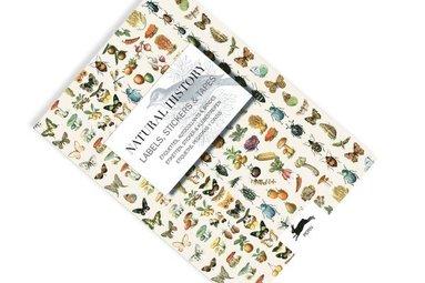 Etiketter, klistermärken och tejp Natural History