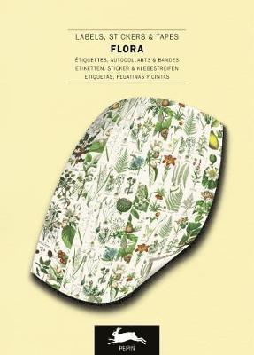 Etiketter/Klistermärken/Tejp 250st Flora