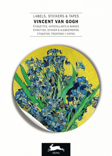 Etiketthäfte Vincent Van Gogh etiketter/klistermärken/tejp 1
