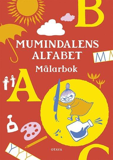 bokomslag Mumindalens alfabet Målarbok