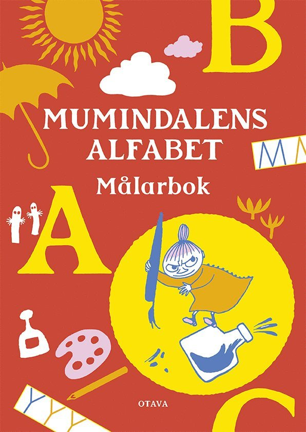 Mumindalens alfabet Målarbok 1