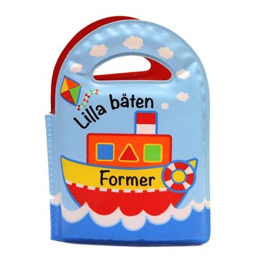 bokomslag Lilla båten - Former (badbok)