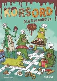 bokomslag Korsord och kakmonster 7-9 år
