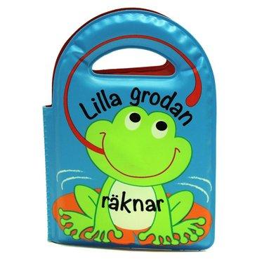 bokomslag Lilla grodan räknar (badbok)