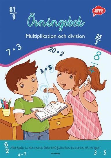 bokomslag Övningsbok-Multiplikation och division