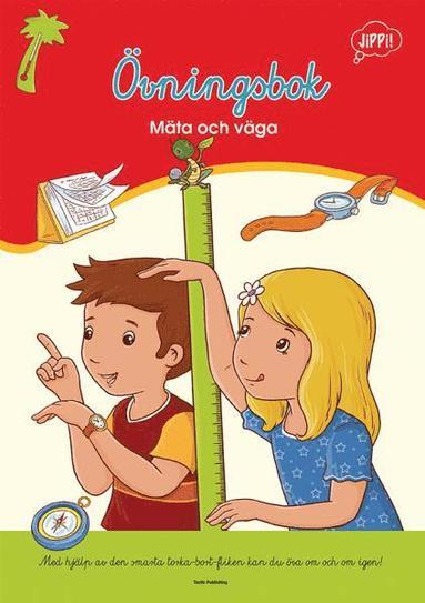 bokomslag Övningsbok-Mäta och väga