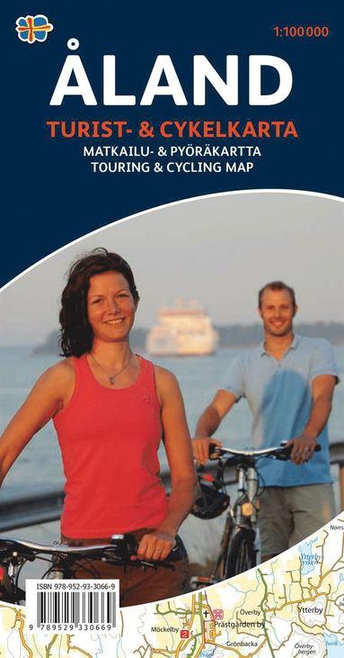 bokomslag Åland Turist & cykelkarta : 1:100000
