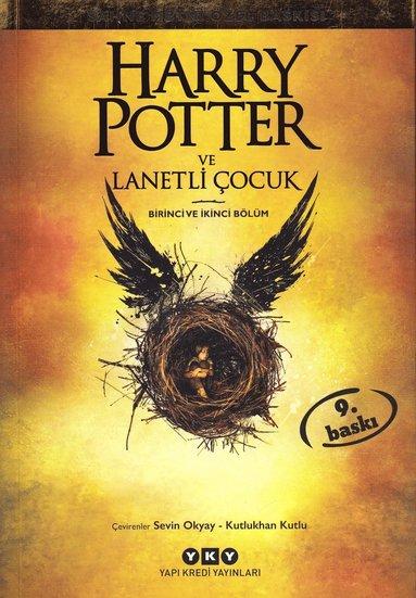bokomslag Harry Potter och det fördömda barnet (Turkiska)