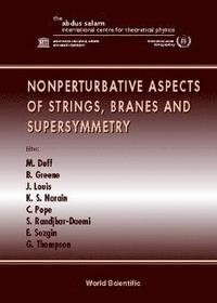 bokomslag Nonperturbative Aspects Of Strings, Branes And Supersymmetry - Proceedings Of The Spring School On Nonperturba