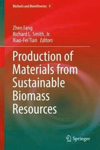 bokomslag Production of Materials from Sustainable Biomass Resources