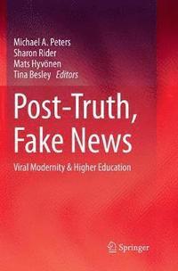 bokomslag Post-Truth, Fake News