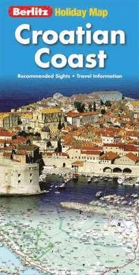 bokomslag Holiday map Croatian Coast