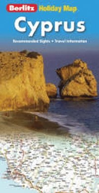 bokomslag Holiday map Cyprus
