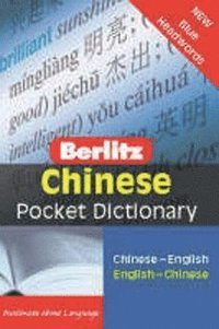 bokomslag Chinese Pocket Dictionary
