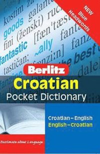 bokomslag Croatian Pocket Dictionary