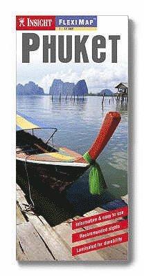 bokomslag Phuket FlexiMap karta : 1:100000