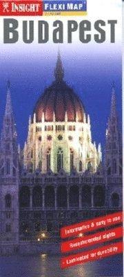 bokomslag Budapest FlexiMap