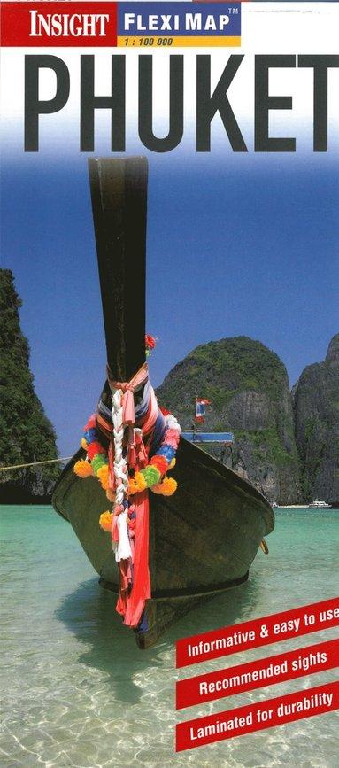 bokomslag Insight Flexi Map: Phuket