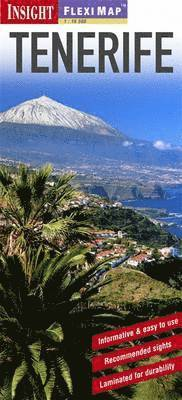 bokomslag Tenerife: Insight Flexi Map: