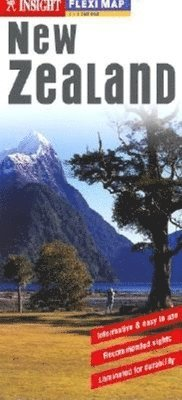 bokomslag Nya Zeeland FlexiMap karta : 1:1,75milj