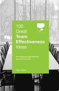 bokomslag 100 great team effectiveness ideas