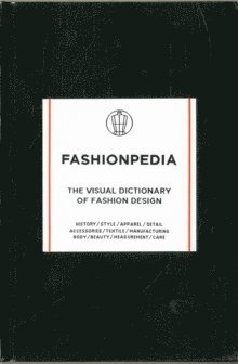 bokomslag Fashionpedia: the Visual Dictionary of Fashion Design