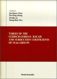 bokomslag Tables Of Clebsch-gordan, Racah And Subduction Coefficients Of Su (N) Groups