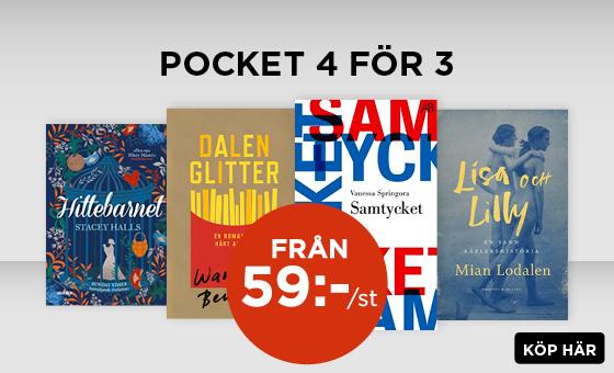 Pocket 4 för 3