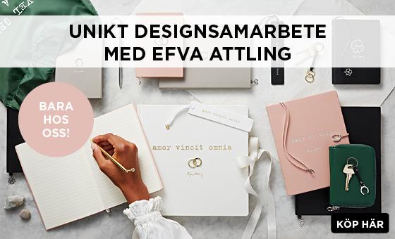 Exklusivt designsamarbete med Efva Attling