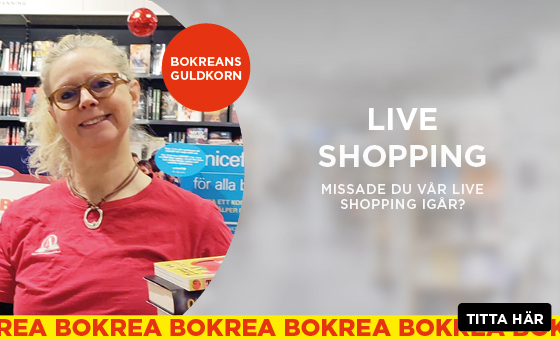 Live shopping med bokreatips