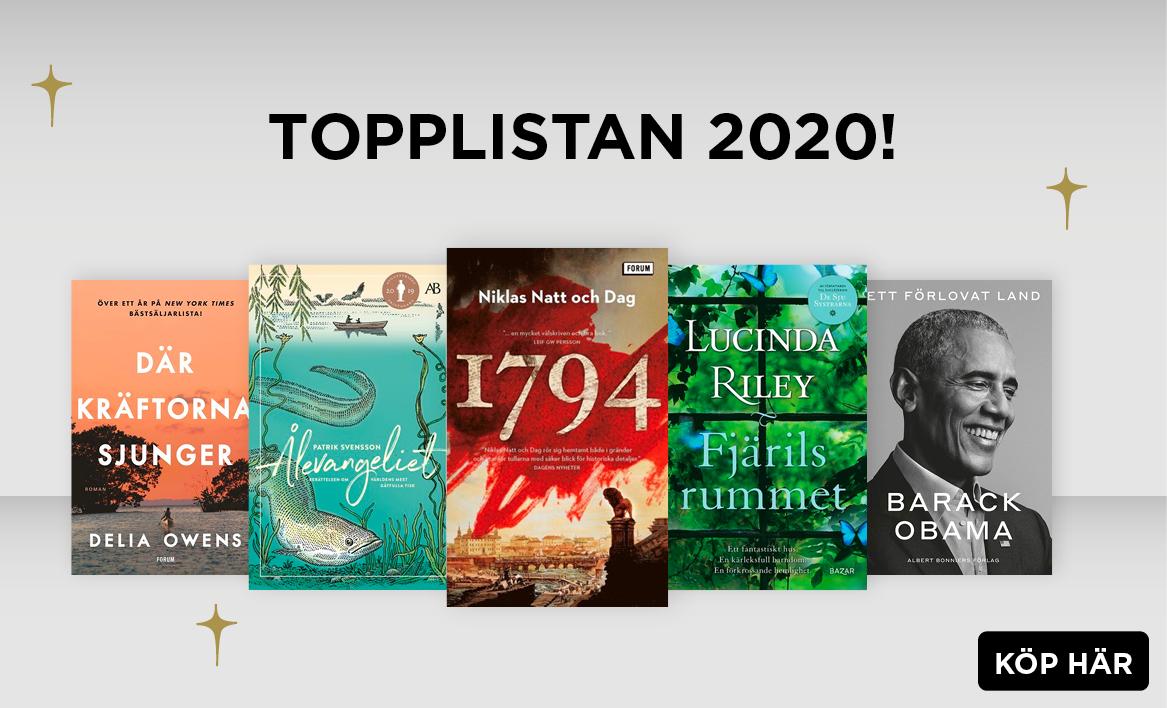 Topplistan 2020