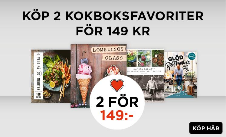 2 kokböcker för 149